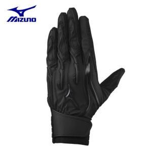 ミズノ 野球 バッティンググローブ 両手用 メンズ レディース シリコンパワーアーク W-Leather 高校野球ルール対応モデル 1EJEH06190 MIZUNO|himaraya