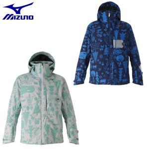 ミズノ スキーウェア ジャケット メンズ デモプリントスキーパーカ Z2ME9322 MIZUNO|himaraya