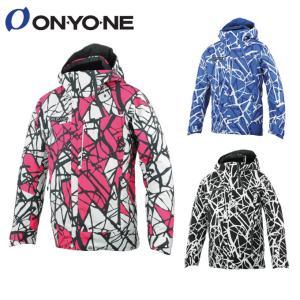 オンヨネ ONYONE スキーウェア ジャケット メンズ レディース PRINT OUTER JACKET ONJ92P43|himaraya