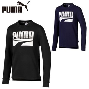プーマ スウェットトレーナー ジュニア REBEL 裏毛クルースウェット 581068 PUMA