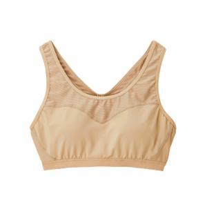 ダンスキン スポーツブラ ブラトップ レディース COMFORTメッシュブラMID DA19903 BG DANSKIN|ヒマラヤ PayPayモール店