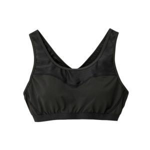 ダンスキン スポーツブラ ブラトップ レディース COMFORTメッシュブラMID DA19903 K DANSKIN|ヒマラヤ PayPayモール店