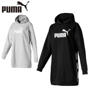 プーマ ロングパーカー レディース LAMPLIFIEDスウェットドレス 581073 PUMA