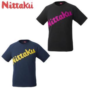 ニッタク Nittaku 卓球ウェア メンズ レディース ビーロゴTシャツ NX2091|himaraya