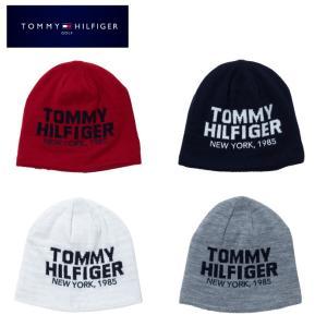 トミーヒルフィガーゴルフ TOMMY HILFIGER GOLF ゴルフ ニット帽 メンズ リバーシブルニットキャップ THMB9F6F|himaraya