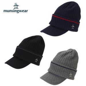 マンシング Munsingwear ゴルフ ニット帽 メンズ ツバ付きニットキャップ MGBOJC19W|himaraya