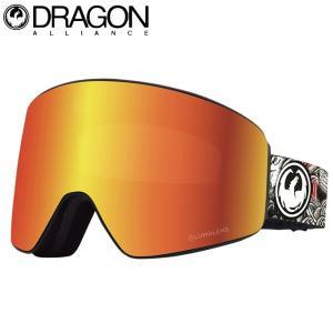 ドラゴン DRAGON スキー スノーボードゴーグル メンズ レディース U-PXV KENGO|himaraya