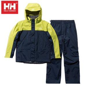 ヘリーハンセン HELLY HANSEN レインウェア上下セット レディース ヘリーレインスーツ HOE11900W YG|himaraya