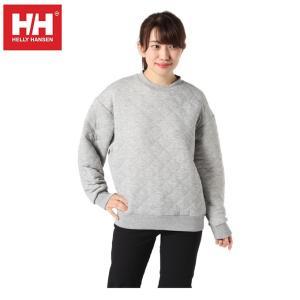 ヘリーハンセン HELLY HANSEN  スウェットトレーナー レディース キルトクルー LS HOE31961UW Z|himaraya