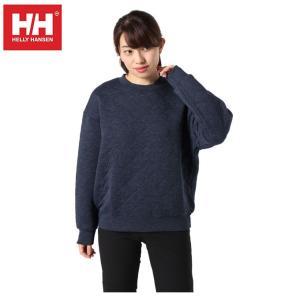 ヘリーハンセン HELLY HANSEN  スウェットトレーナー レディース キルトクルー LS HOE31961UW ZN|himaraya