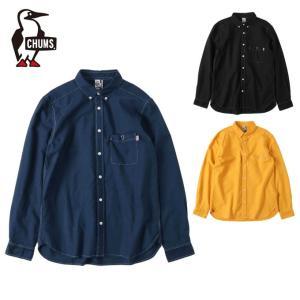 チャムス CHUMS 長袖シャツ メンズ ガーメントダイオックスシャツ CH02-1127|himaraya