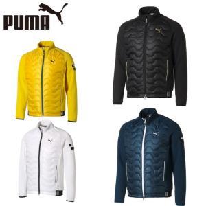 柔らかさと暖かさを保つニット素材と、防風性に優れたキルティング素材を前身頃に使用したニットジャケット...