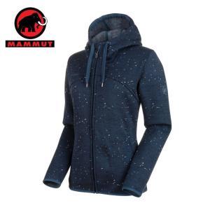 マムート MAMMUT スウェットジャケット レディース Chamuera ML Hooded Jacket AF Women 1014-01390 50227|himaraya
