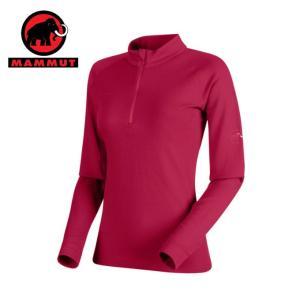 マムート MAMMUT 長袖シャツ レディース PERFORMANCE Thermal Zip long Sleeve Women 1016-00100 3584|himaraya