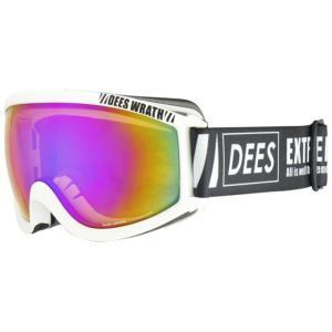 ディーズ DEES スキー スノーボードゴーグル メンズ レディース WRATH DNG-965-4|himaraya