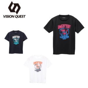 バスケットボールウェア 半袖シャツ ジュニア バスケプリントT VQ570413J05 ビジョンクエスト VISION QUEST ヒマラヤ PayPayモール店