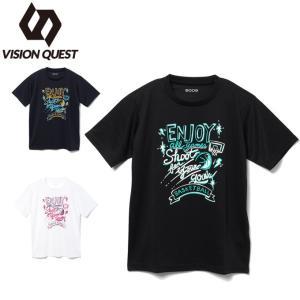 バスケットボールウェア 半袖シャツ ジュニア バスケプリントTシャツ VQ570413J06 ビジョ...