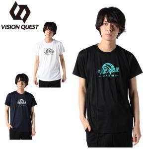 バレーボールウェア 半袖シャツ メンズ バレープレイヤー Tシャツ VQ570513J02 ビジョン...