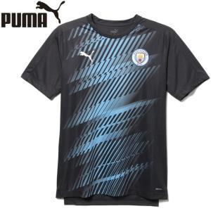 プーマ サッカーウェア レプリカシャツ メンズ レディース マンCスタジアムシャツ 756765 P...