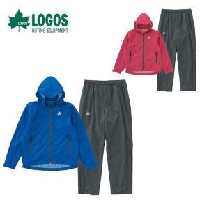 ロゴス LOGOS レインウェア上下セット レディース ストレッチレインスーツ 36710LOGOS|himaraya
