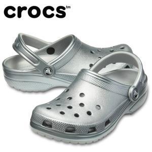クロックス クロックサンダル メンズ レディース クラシック メタル クロッグ 205831-050 crocsの画像