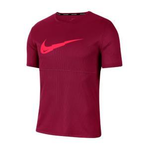 ナイキ スポーツウェア 半袖Tシャツ メンズ ブリーズ ラン ウィンドランナー プルオーバー G S...