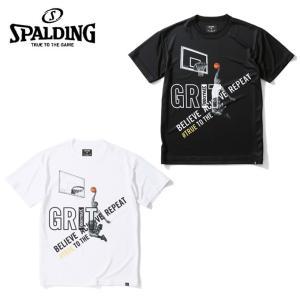 スポルディング バスケットボールウェア 半袖シャツ メンズ グリット半袖Tシャツ SMT200150...