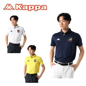 カッパゴルフ KAPPA GOLF ゴルフウェア ポロシャツ 半袖 メンズ オリジナルエンブレム半袖...