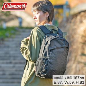 コールマン リュックサック 15L メンズ レディース ウォーカー15 ブラックヘザー 200003...