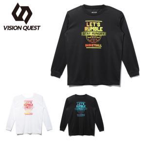ビジョンクエスト VISION QUEST  バスケットボール 長袖シャツ ジュニア プリントTシャツ VQ570414J03 ヒマラヤ PayPayモール店