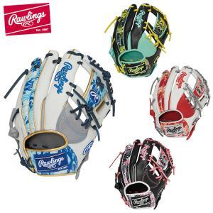 ローリングス Rawlings 野球 一般軟式グローブ 内野手 メンズ 軟式 HOH HACKS CAMO 内野手用 サイズ11.25 GR1HON62 ヒマラヤ PayPayモール店