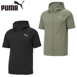 プーマ 半袖 スウェット メンズ EVO ショートスリーブニットジャケット 589106 PUMA