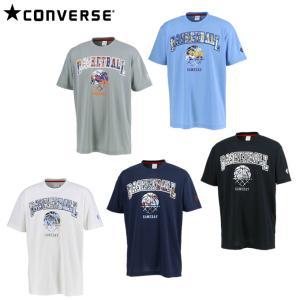 コンバース CONVERSE バスケットボールウェア 半袖シャツ メンズ プリントTシャツ CB20...