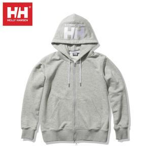 ヘリーハンセン HELLY HANSEN スウェットパーカー レディース HHロゴフルジップスウェットフーディー HH Logo Full-zip Sweat Hoodie HE32122W Z ヒマラヤ PayPayモール店