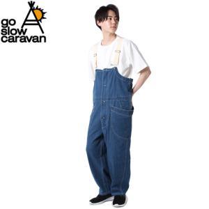 ゴースローキャラバン Go Slow Caravan オーバーオール メンズ 脇ポケオーバーオール 350228 ヒマラヤ PayPayモール店