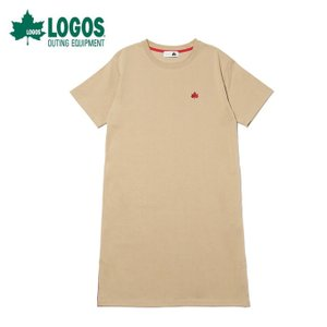 ロゴス LOGOS チュニック レディース ロングスリット SS ドレス 1186-0661 15|ヒマラヤ PayPayモール店