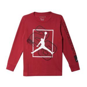 ジョーダン JORDAN バスケットボール 長袖シャツ ジュニア グラフィック ロングTシャツ  9...