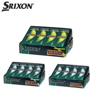 スリクソン(SRIXON)  ゴルフボール スリクソン トライスター  SRIXON TRI-STAR 【GLPB】 1ダース(12個入り)