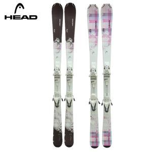 ヘッド HEAD スキー板 レディース セット金具付 JOY LR+LRX 9.0 JOY 【金具付き 取付料無料】|himaraya