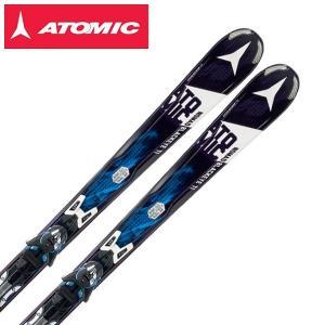 アトミック ATOMIC スキー板 セット金具付 BLACKEYE TI ARC + XTO12 【15-16 2016モデル】|himaraya