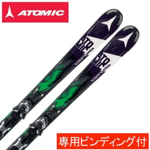 アトミック ATOMIC スキー板 セット金具付 BLACKEYE ARC-L +XTO12 【15-16 2016モデル】|himaraya