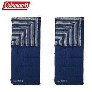 コールマン 封筒型シュラフ フリースフットEZキャリースリーピングバッグ/C5 セット 2000031098 Coleman|himaraya
