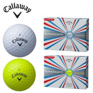 キャロウェイ Callaway ゴルフボール 1ダース 12個入り スーパーソフト SUPERSOFT