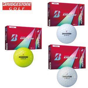 ブリヂストンゴルフ BRIDGESTONE GOLF ゴルフボール 1ダース 12個入り スーパーストレート SUPER STRAIGHT