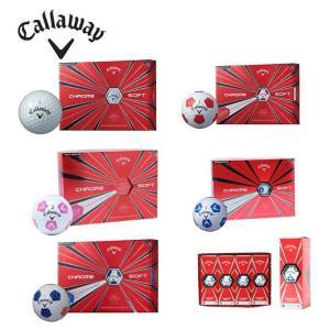 キャロウェイ Callaway ゴルフボール 1ダース 12個入 クロムソフト CHROME SOFT