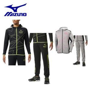 ミズノ スポーツウェア上下セット メンズ レディース スウェットパーカ ユニセックス + ユニセックス 32JC9250 + 32JD9250 MIZUNO|himaraya