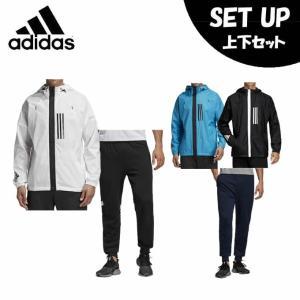 アディダス スポーツウェア上下セット メンズ WND ジャケット + WND パンツ FXY09 + FXY43 adidas|himaraya