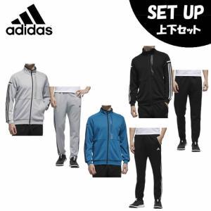 アディダス スポーツウェア上下セット メンズ 24/7 ヘザー ウォームアップジャケット + 24/7 ヘザー ウォームアップパンツ FTL51 + FTL50 adidas|himaraya