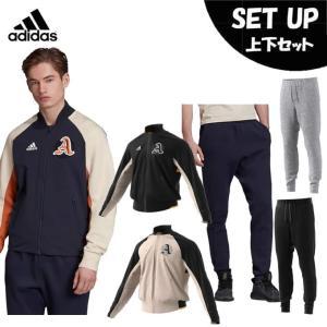 アディダス スポーツウェア上下セット メンズ  VRCT ジャケット + VRCT パンツ FWT37 + FWS69 adidas|himaraya