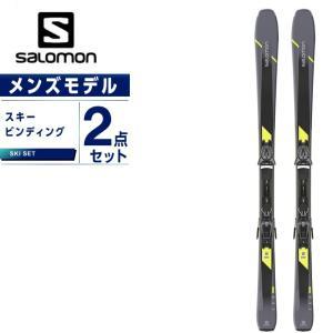サロモン スキー板 セット金具付 メンズ スキー板+ビンディング XDR 80 ST C +Z10GW salomon|ヒマラヤ PayPayモール店